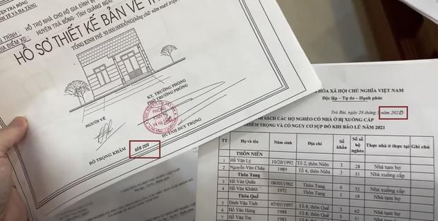 """Soi chi tiết bất thường trong giấy tờ sao kê của NS Hoài Linh: Cho người dân 237 tuổi """"xuyên không"""", sửa thời gian bằng bút mực? - Ảnh 4."""