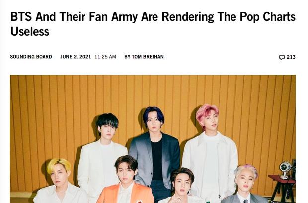 BTS và ARMY đang khiến các bảng xếp hạng âm nhạc trở nên vô dụng? - Ảnh 11.