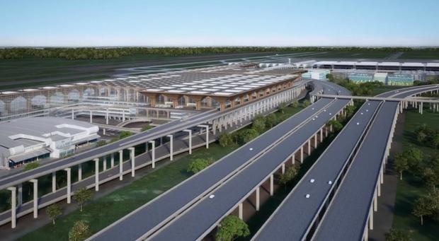 Tranh thủ vắng khách du lịch - Thái Lan âm thầm cải tạo sân bay Bangkok đẹp đến choáng ngợp, tuyên bố sánh ngang với Singapore! - Ảnh 2.