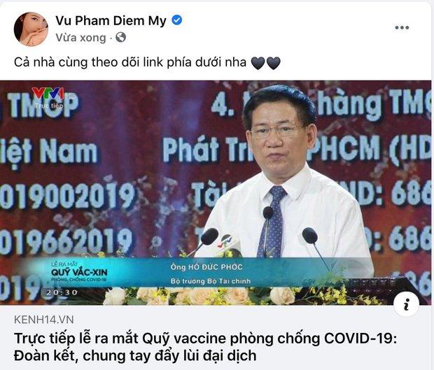Cả showbiz và dàn KOLs Việt hướng về buổi ra mắt Quỹ vaccine phòng Covid-19, chuyển khoản nóng đóng góp hàng trăm triệu đồng - Ảnh 21.