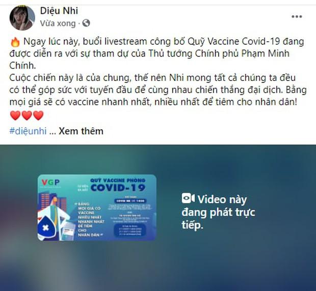 Cả showbiz và dàn KOLs Việt hướng về buổi ra mắt Quỹ vaccine phòng Covid-19, chuyển khoản nóng đóng góp hàng trăm triệu đồng - Ảnh 23.