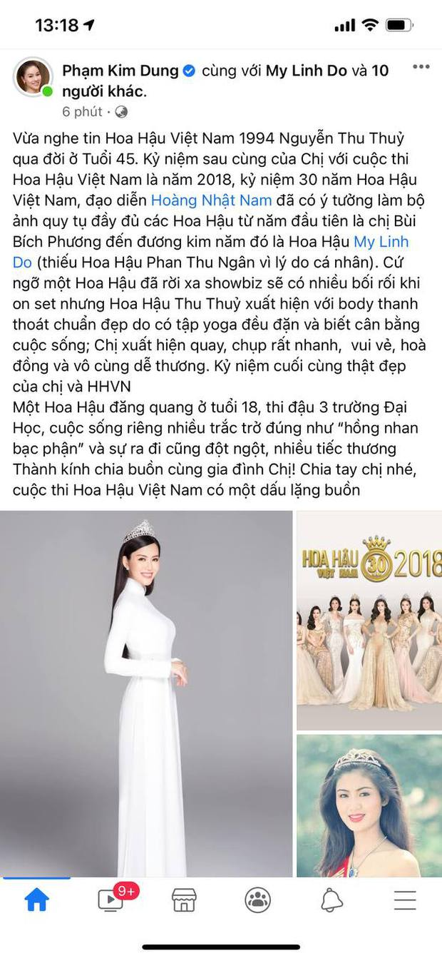 Lệ Quyên, Thúy Hạnh và dàn sao Việt bàng hoàng xót xa khi nghe tin Hoa hậu Thu Thuỷ đột ngột qua đời - Ảnh 5.