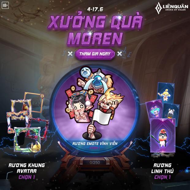 Liên Quân Mobile: Game thủ chê quà miễn phí từ Xưởng quà Moren quá bèo, tuy nhiên sự thật lại hoàn toàn trái ngược? - Ảnh 1.