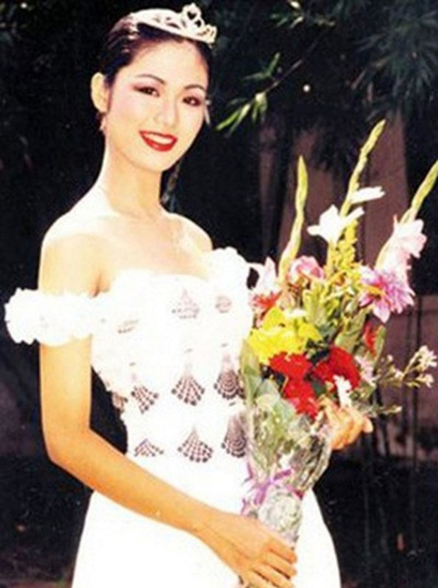 Hoa hậu Nguyễn Thu Thuỷ: Từng đi du học Mỹ, làm đạo diễn phim, sở hữu vòng eo nhỏ nhất lịch sử HHVN - Ảnh 3.
