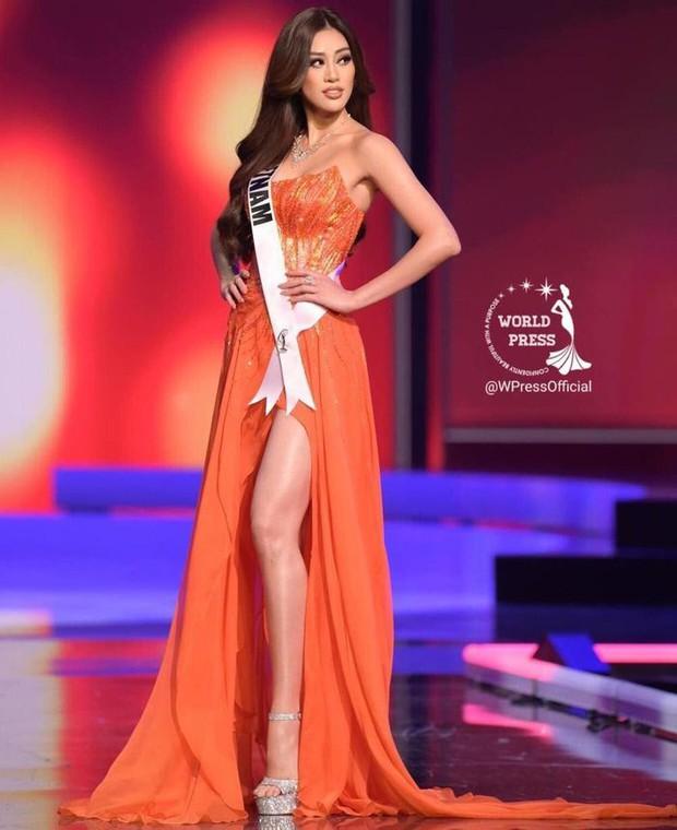 Dù không thắng giải, Hoa hậu Khánh Vân vẫn đạt 2 thành tích khủng sau cuộc thi Miss Universe - Ảnh 1.