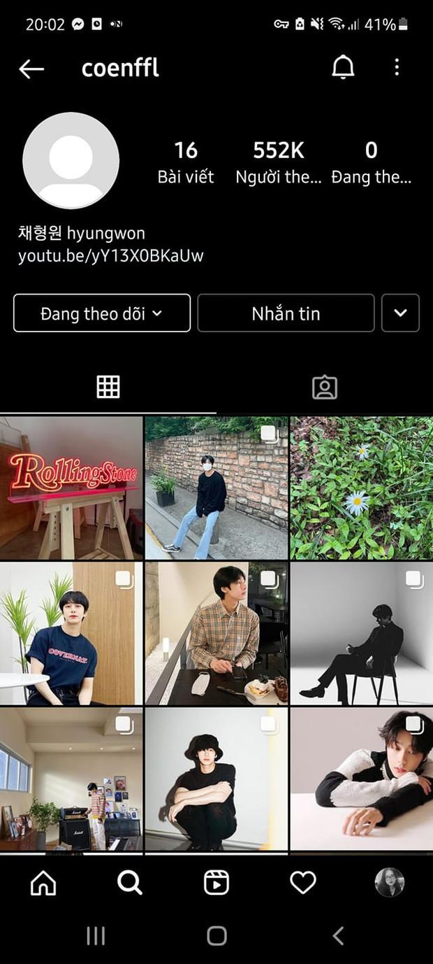 Hyungwon (MONSTA X) chán chường vì bị fan trêu không có tick xanh Instagram, netizen phải lập tức hiến kế - Ảnh 2.