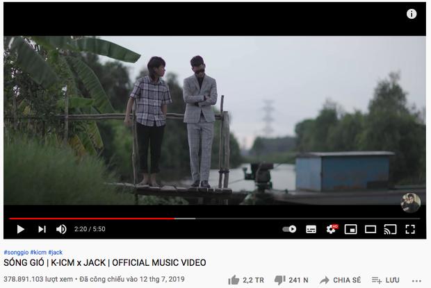 Loạt MV nhạc Việt cập kê nửa tỷ view sau Bống Bống Bang Bang: Jack - K-ICM có tới 3 ngựa chiến, Sơn Tùng thua xa - Ảnh 6.