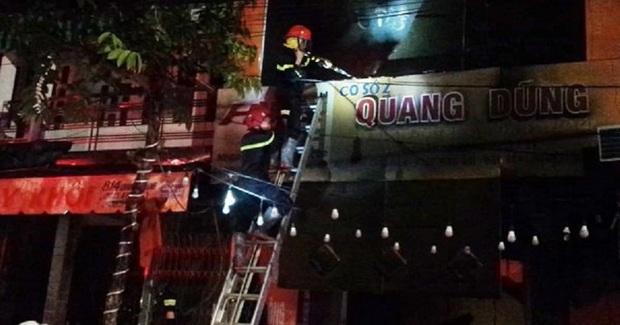 Cháy tiệm bán đồ điện, cả gia đình 4 người tử vong, trong đó phụ nữ đang mang thai - Ảnh 1.