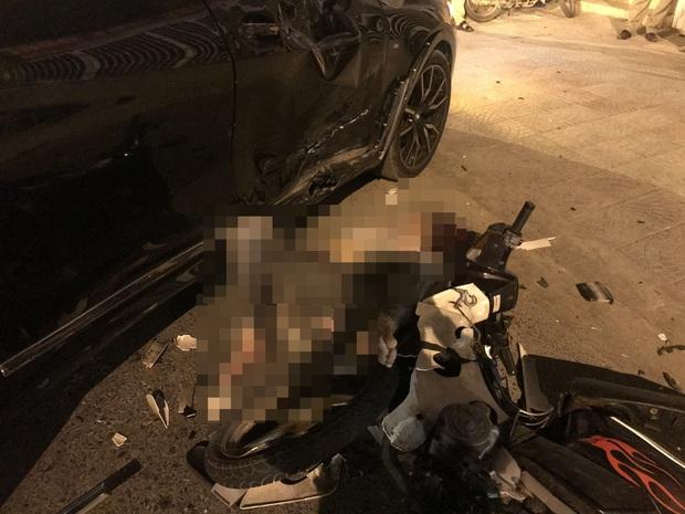 Ô tô BMW X7 đi lùi tông tử vong nam thanh niên chạy xe máy - Ảnh 2.