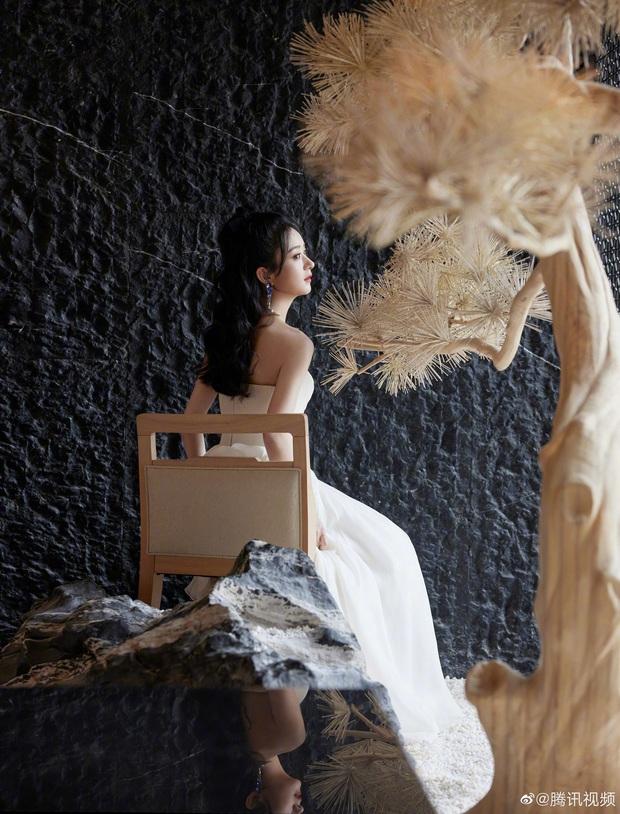 Triệu Lệ Dĩnh bùng nổ visual tại sự kiện hôm nay: Kiều diễm như nàng công chúa, nhưng soi cận cảnh nhan sắc thì sao? - Ảnh 2.