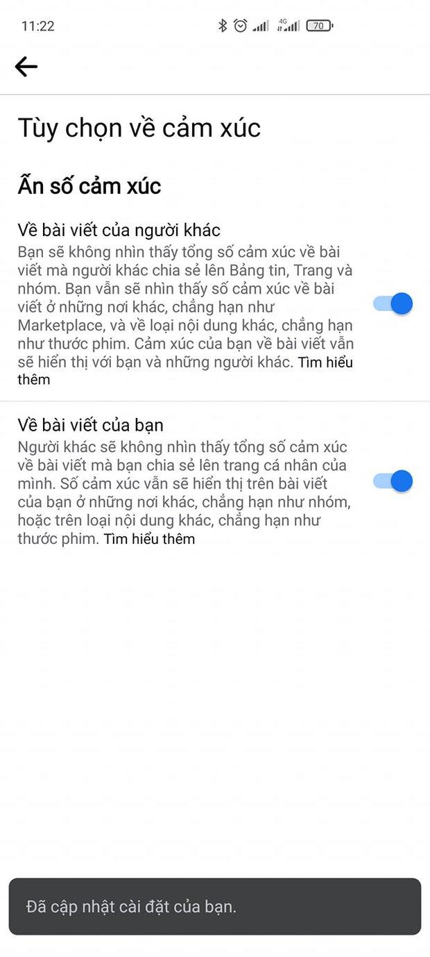 Facebook chính thức cho ẩn số like - Ảnh 4.