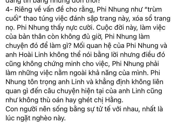 Phi Nhung lên tiếng khi bị bà Phương Hằng gọi tên: Làm rõ 3 tin đồn đang gây xôn xao, nói rõ quan hệ với Hoài Linh - Ảnh 7.
