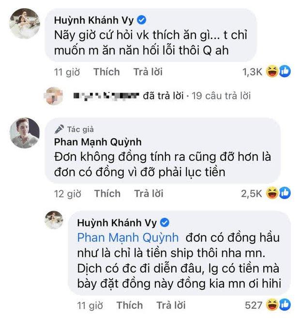 """Phan Mạnh Quỳnh miêu tả cực lầy 1 ngày dịu dàng của đàn ông đã có vợ, bà xã liền vào """"vạch mặt"""" chẳng chịu nhường! - Ảnh 4."""
