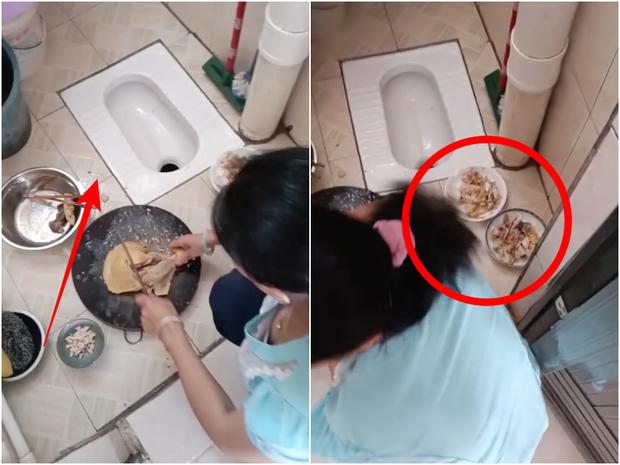 Clip: Khoe tài chặt gà nhưng cô gái khiến ai nấy đều run sợ vì 1 chi tiết, người Việt thấy là kiêng kị vì quá mất vệ sinh - Ảnh 2.