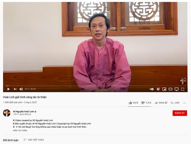 Hàng loạt kênh YouTube đưa thông tin thất thiệt về Hoài Linh, hút về cả triệu lượt xem - Ảnh 1.