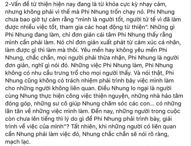 Phi Nhung lên tiếng khi bị bà Phương Hằng gọi tên: Làm rõ 3 tin đồn đang gây xôn xao, nói rõ quan hệ với Hoài Linh - Ảnh 4.