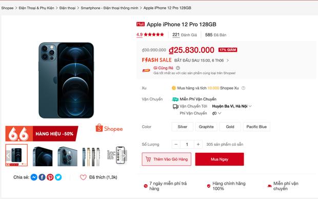 So sánh nhanh giá iPhone, Macbook, AirPods trên các sàn TMĐT và cửa hàng bán lẻ ngày siêu sale, kết quả sẽ khiến bạn bất ngờ! - Ảnh 1.