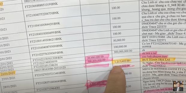 MXH lan truyền sao kê ngân hàng chưa công bố được cho là của NS Hoài Linh: Số tiền từ thiện thực tế lên đến 22 tỷ, có 1 tỷ giao dịch đáng ngờ? - Ảnh 4.