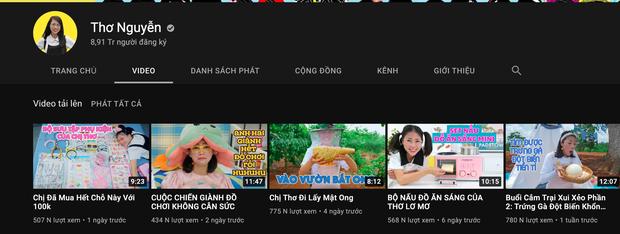 Kênh YouTube Thơ Nguyễn giậm chân tại chỗ sau 2 tháng trở lại, mục tiêu lấy nút Kim Cương bao giờ đạt được? - Ảnh 3.