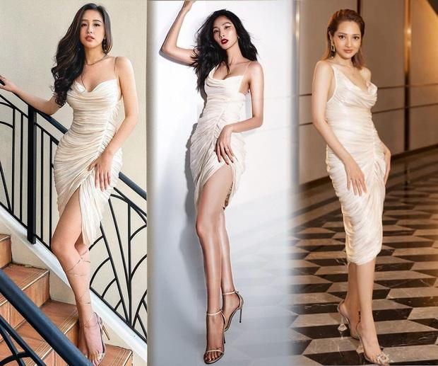 Đụng 1 mẫu váy, Mai Phương Thúy dường như lấn át Hoàng Thuỳ - Bảo Anh bởi khuôn ngực phập phồng, sexy khó tả - Ảnh 5.