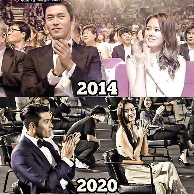 Nhìn ánh mắt của Son Ye Jin dành cho Hyun Bin 1 năm và 7 năm trước mới thấy định mệnh cặp đôi thuộc về nhau - Ảnh 11.