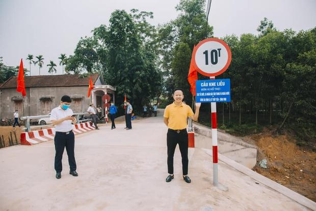 Thuỷ Tiên khánh thành 2 cây cầu hư hỏng do lũ lụt, chính thức kết thúc dự án hỗ trợ miền Trung - Ảnh 8.