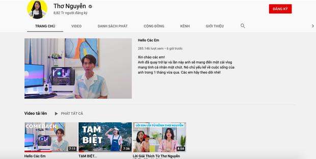 Kênh YouTube Thơ Nguyễn giậm chân tại chỗ sau 2 tháng trở lại, mục tiêu lấy nút Kim Cương bao giờ đạt được? - Ảnh 2.