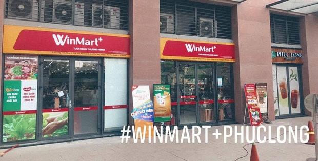 Dân tình xôn xao vì siêu thị Vinmart+ đổi tên thành Winmart+, lại mở cả kiosk Phúc Long kế bên - Ảnh 1.