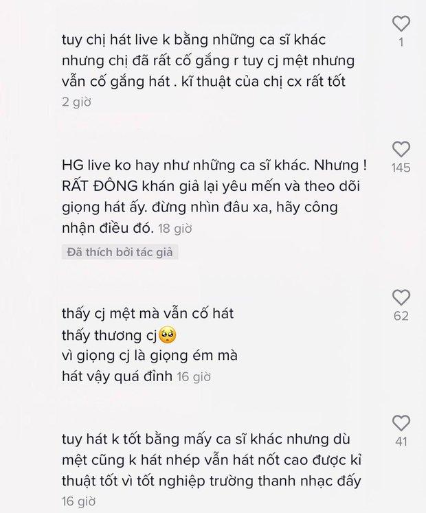 Từng chê Hương Giang live kém nhưng netizen bỗng quay xe bênh vực: Thà live yếu còn hơn hát nhép? - Ảnh 5.