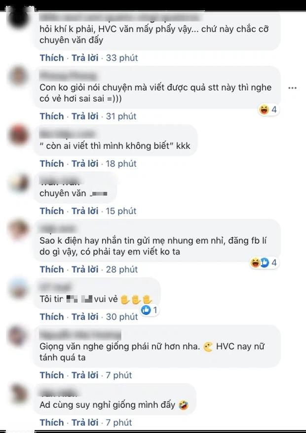 Netizen nghi ngờ Hồ Văn Cường bị hack nick, thừa nhận không giỏi giao tiếp nhưng tâm thư gửi mẹ Phi Nhung lại quá mượt mà? - Ảnh 3.