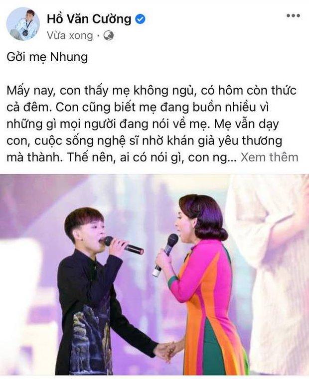 Hồ Văn Cường viết tâm thư gửi Phi Nhung giữa tin đồn bóc lột con nuôi, làm rõ lý do từng xích mích căng thẳng - Ảnh 2.