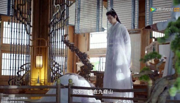 Tiêu Chiến đẹp thoát tục trong y phục trắng ở trailer Ngọc Cốt Dao, dậy thì thành công từ Ngụy Vô Tiện năm nào - Ảnh 7.