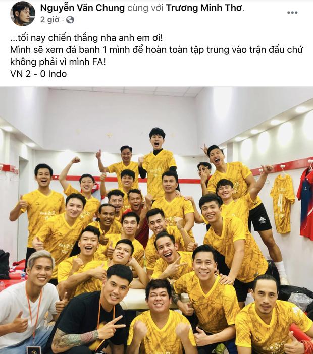 Sao Việt nhuộm đỏ Facebook trước giờ G đội tuyển Việt Nam gặp Indonesia: Jack và dàn mỹ nhân cực cuồng nhiệt, BB Trần hứa làm 1 việc lầy lội - Ảnh 10.