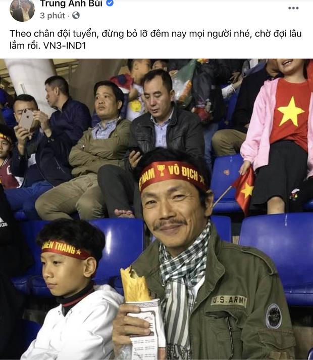 Sao Việt nhuộm đỏ Facebook trước giờ G đội tuyển Việt Nam gặp Indonesia: Jack và dàn mỹ nhân cực cuồng nhiệt, BB Trần hứa làm 1 việc lầy lội - Ảnh 9.