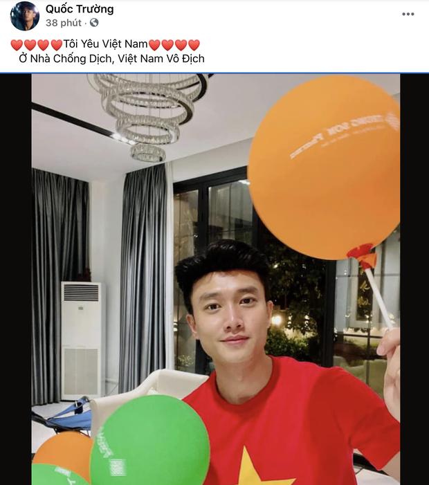 Sao Việt nhuộm đỏ Facebook trước giờ G đội tuyển Việt Nam gặp Indonesia: Jack và dàn mỹ nhân cực cuồng nhiệt, BB Trần hứa làm 1 việc lầy lội - Ảnh 4.