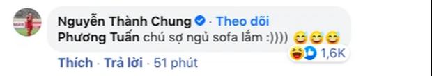 Jack mặc áo cờ đỏ sao vàng cổ vũ ĐT Việt Nam trước giờ G, Tiến Linh - Thành Chung bay vào phản ứng ngay và luôn! - Ảnh 4.