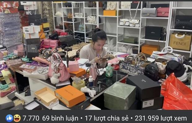 Bất chấp bị đình chỉ vì bán hàng giả, vợ Lê Dương Bảo Lâm vẫn tiếp tục livestream bán hàng công khai gây phẫn nộ trên MXH - Ảnh 3.