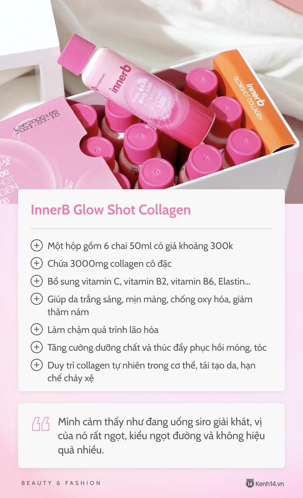 Chăm uống collagen nên da căng bóng mướt mát, cô nàng đưa luôn review chi tiết 5 loại hay sử dụng để chị em cùng tham khảo - Ảnh 6.