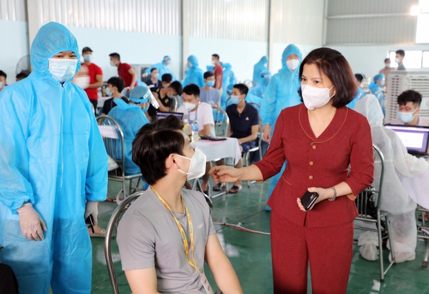 Bắc Ninh phát hiện thêm 21 ca dương tính với SARS-CoV-2 tại 11 công ty - Ảnh 1.