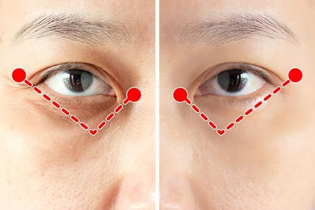 Bài tập 1 phút của người Nhật để ngăn ngừa và loại bỏ nếp nhăn quanh mắt cực hiệu quả - Ảnh 4.