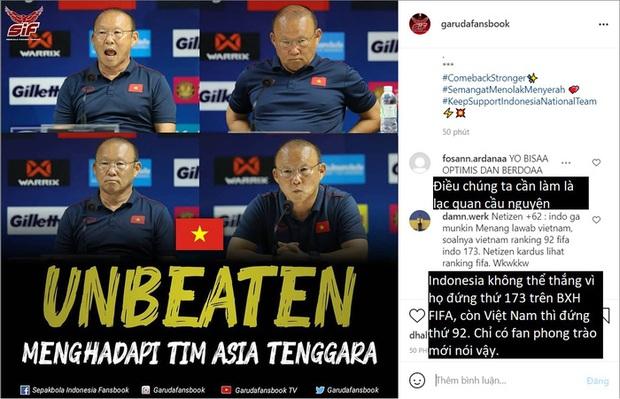 Fan Indonesia hoang mang với kỷ lục bất bại của đội tuyển Việt Nam - Ảnh 2.