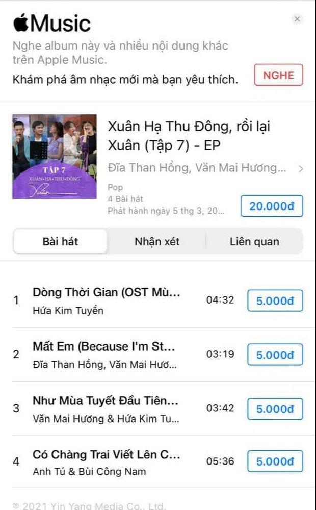 Bản cover hit Lady Gaga của Văn Mai Hương đã bay màu khỏi iTunes và Apple Music, Hoà Minzy cũng bị vạ lây? - Ảnh 3.
