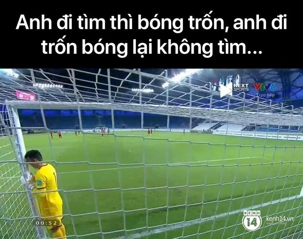"""Cả """"rổ"""" ảnh chế sau trận Việt Nam thắng Indonesia 4-0, không nhịn cười được với biểu cảm của thủ môn đội bạn - Ảnh 11."""