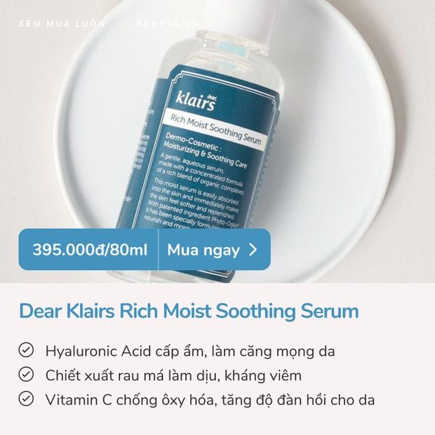 5 serum cấp ẩm căng mướt da tức thì: Loại vài trăm loại tiền triệu, đảm bảo dùng là mê - Ảnh 8.