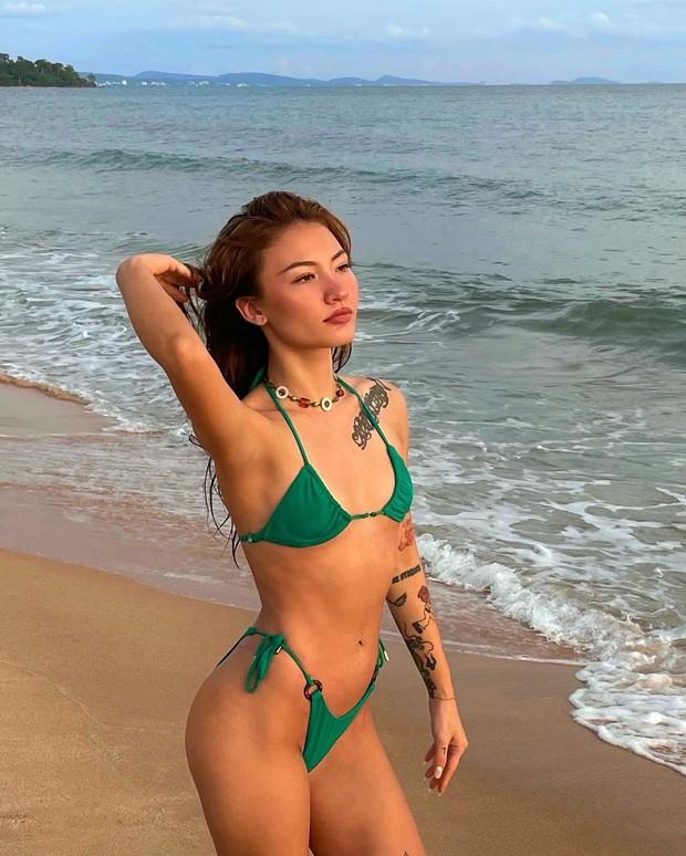 Một gái xinh đã chứng minh: Không cần độ vòng này vòng nọ vẫn dư sức diện bikini sexy! - Ảnh 6.