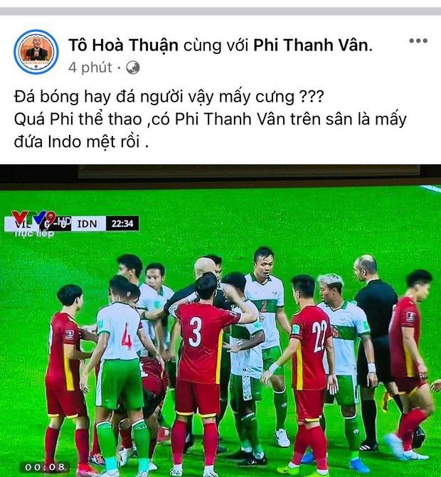 Trương Quỳnh Anh, Nam Thư và dàn sao Việt bày tỏ sự phẫn nộ khi thấy cầu thủ Việt Nam bị đội tuyển Indonesia chơi xấu - Ảnh 9.