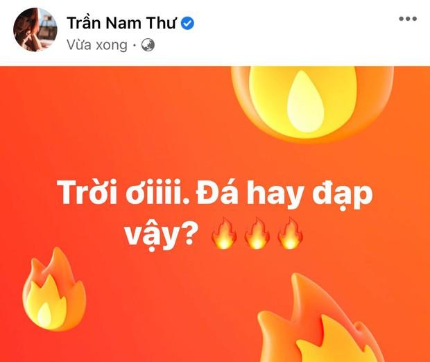 Trương Quỳnh Anh, Nam Thư và dàn sao Việt bày tỏ sự phẫn nộ khi thấy cầu thủ Việt Nam bị đội tuyển Indonesia chơi xấu - Ảnh 4.