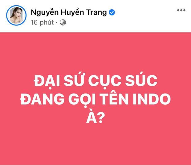 Trương Quỳnh Anh, Nam Thư và dàn sao Việt bày tỏ sự phẫn nộ khi thấy cầu thủ Việt Nam bị đội tuyển Indonesia chơi xấu - Ảnh 7.
