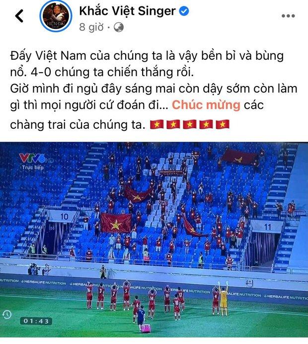 Ăn mừng Việt Nam thắng 4-0 kiểu bố bỉm Ông Cao Thắng: Không có cờ, nhanh tay bế ái nữ lên hô to, nhìn mặt Winnie hớn quá! - Ảnh 6.