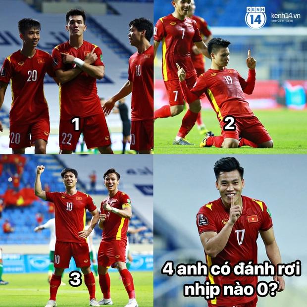 """Cả """"rổ"""" ảnh chế sau trận Việt Nam thắng Indonesia 4-0, không nhịn cười được với biểu cảm của thủ môn đội bạn - Ảnh 7."""